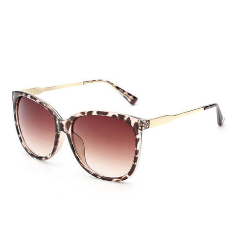 Vintage Round Big Frame Sunglasses