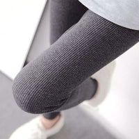 cotton high waist thread vertical push up leggings