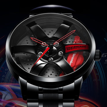 Car Rim Waterproof Creative Watch