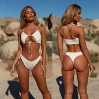 Bandage Hollow Out Bikini