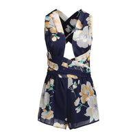 Floral Sexy Bandage Boho Bohemian Rompers