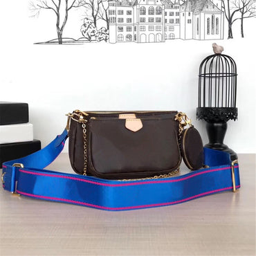 Three-piece chain wallet Handbags