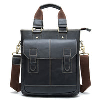 Genuine Leather Business Handbag