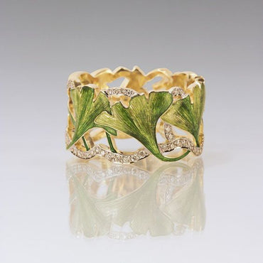 Gorgeous Flower Leaf Ring