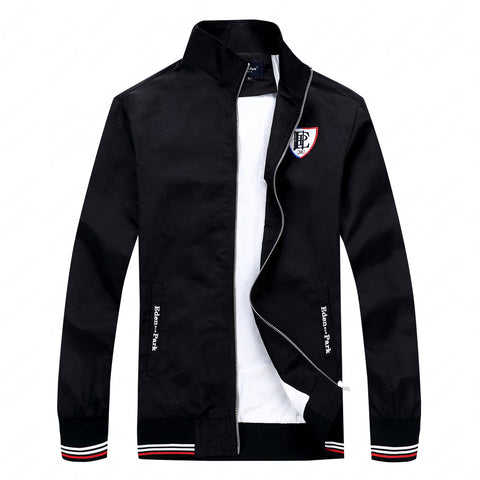 Casual Style zipper thin waterproof nice embroidery Jackets