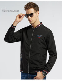Thin best Embroidery Baseball Jackets