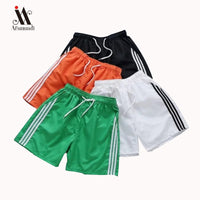 casual striped sportswear shorts