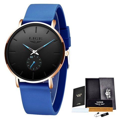 Silicone Sport Waterproof Clock Luxury Quartz Watch