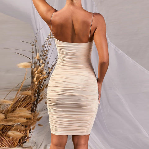 Sexy Backless Sleeveless Party Dress