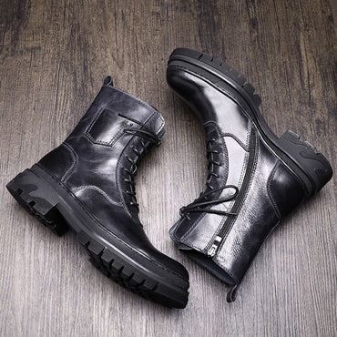 Mid-calf Motorcycle Boots