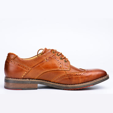 Bullock genuine leather oxford shoes