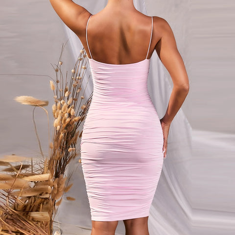 Backless Sleeveless Party Dress