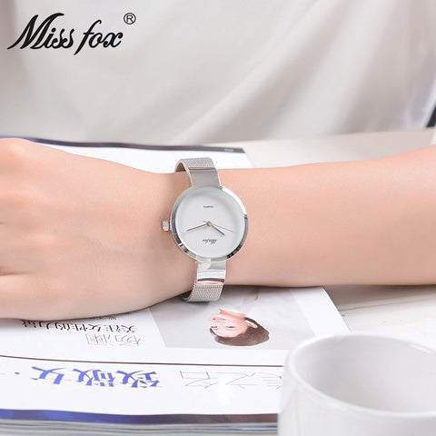 Miss fox waterproof wrist watch