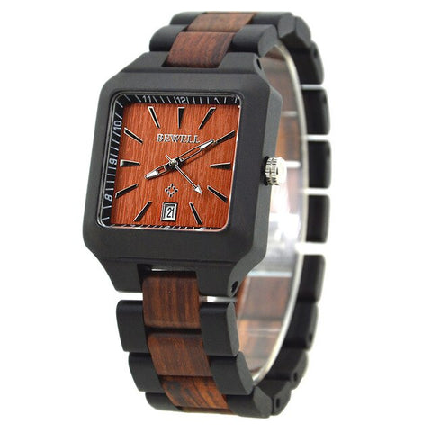 Casual Rectangle Wood Watches