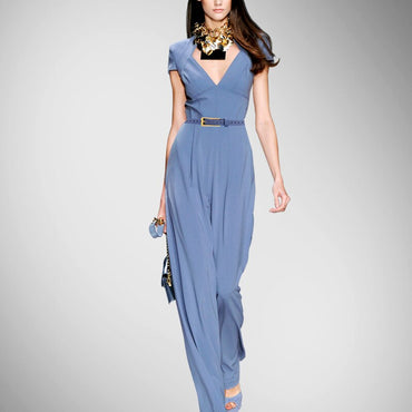 Direct Selling Sashes Regular Jumpsuit