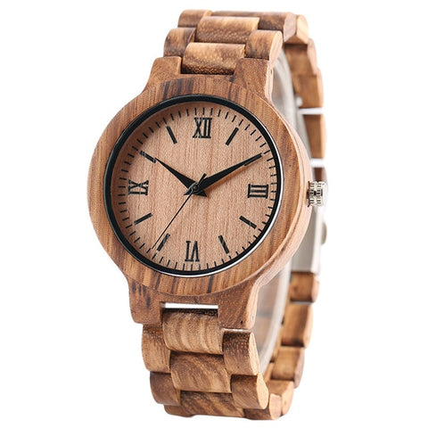Minimalist Full Wooden Watches