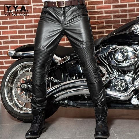 Genuine Leather Cow Pants