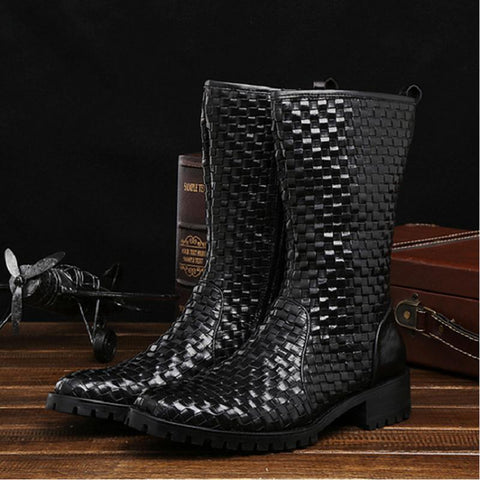 Genuine Leather Tactical Military Boots