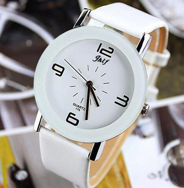Leather Fashion Brand Bracelet Watches