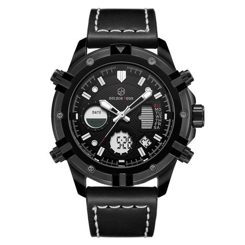 Military Dual Time Watch