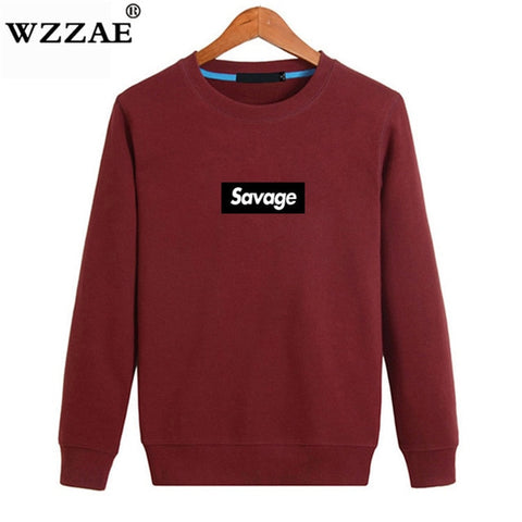 Parody No Heart X Savage Letter Print Sweatshirt