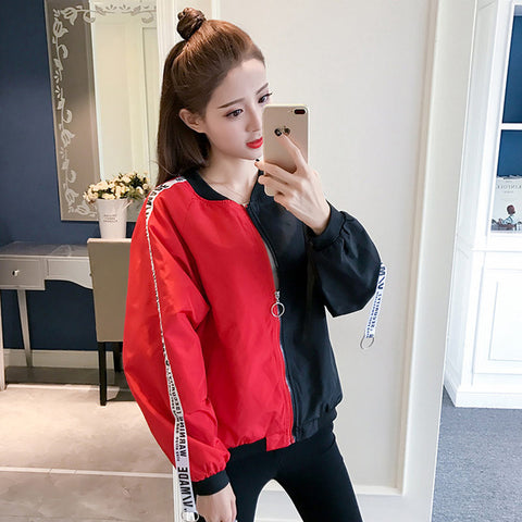 Fashion Thin Windbreaker Outwear Basic Jacket
