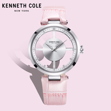 Buckle Waterproof Pink Hollow See through Luxury Brand Watches