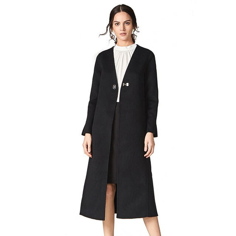 Casual Wool Blend Coat