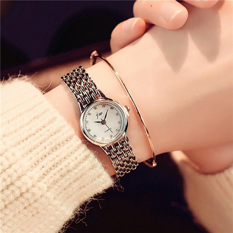 Analog Wrist Small Dial Delicate Watch