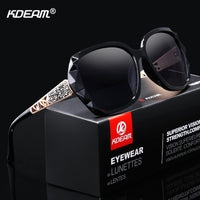 Polarized Butterfly Diamond Designer Sunglasses