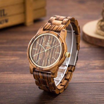 Bangle Decorative Simple Design Wood Watches