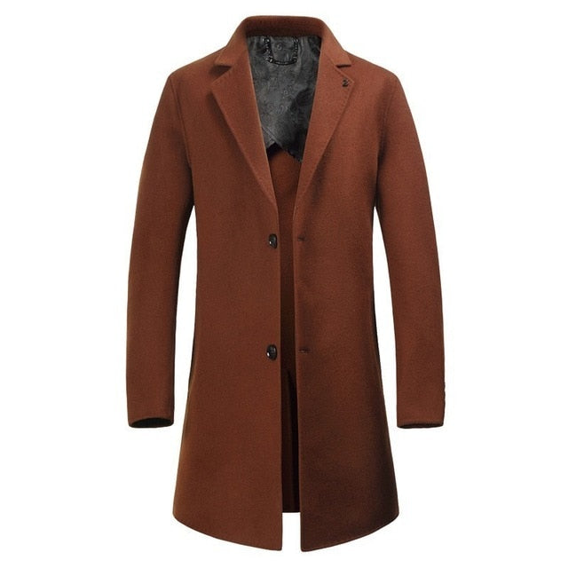 luxurious Wool Coat