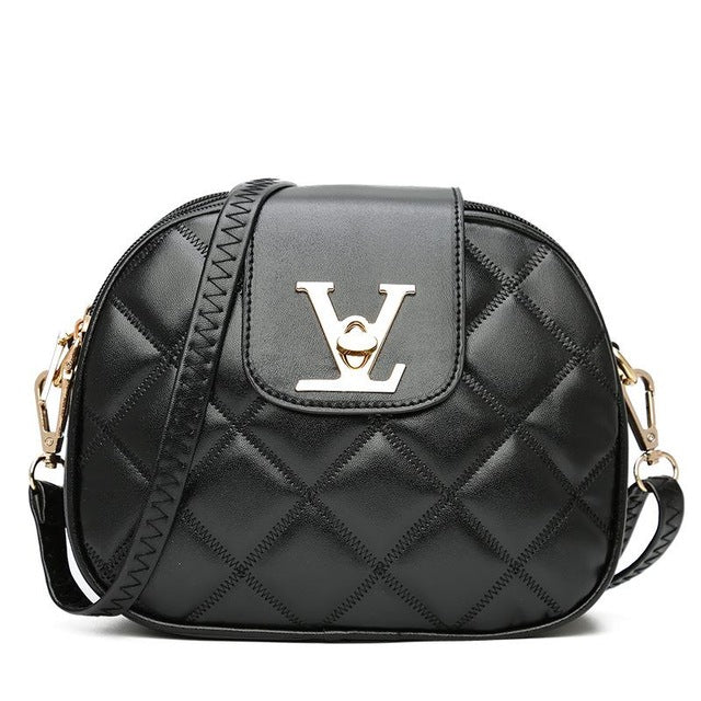 Leather Pu Quilted Luxury Handbags