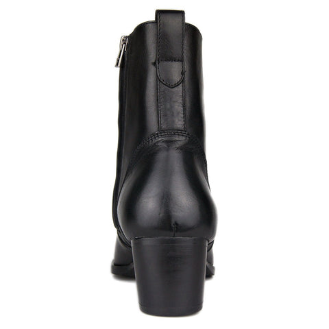 Genuine Cow leather Fetish red bottom high heels boots