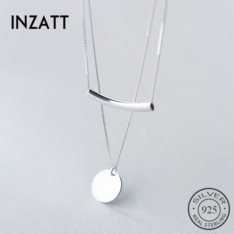 Sterling Silver Personality Pendant Necklaces