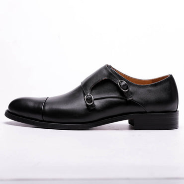 Calf Waxed Leather Italian Genuine Leather Oxford Shoes