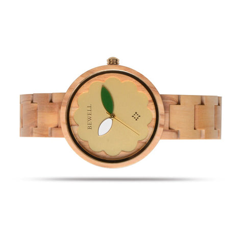 Round Luxury Wood Watches