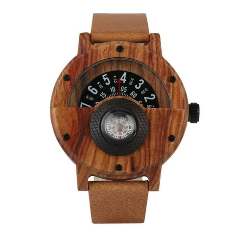 Creative Bamboo Wood Watch