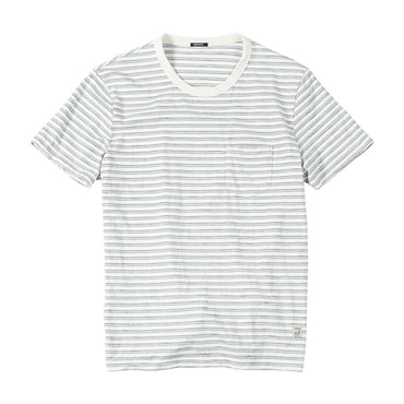 striped casual cotton Breathable t shirt