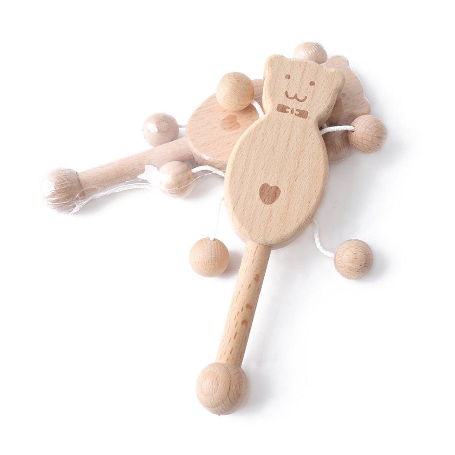 Wooden Rattle Ring