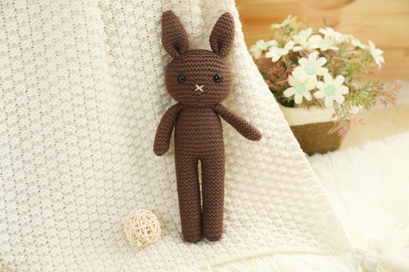 Handmade Crochet Plush Toy & Sleeping Doll