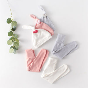 3-Piece Baby Clothing Set with Heart