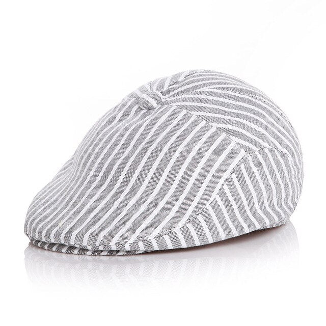 Beret Cap - Stripes