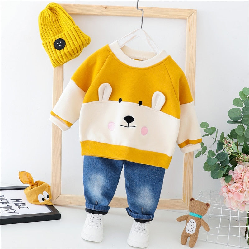 Bear Pullover & Trouser Set