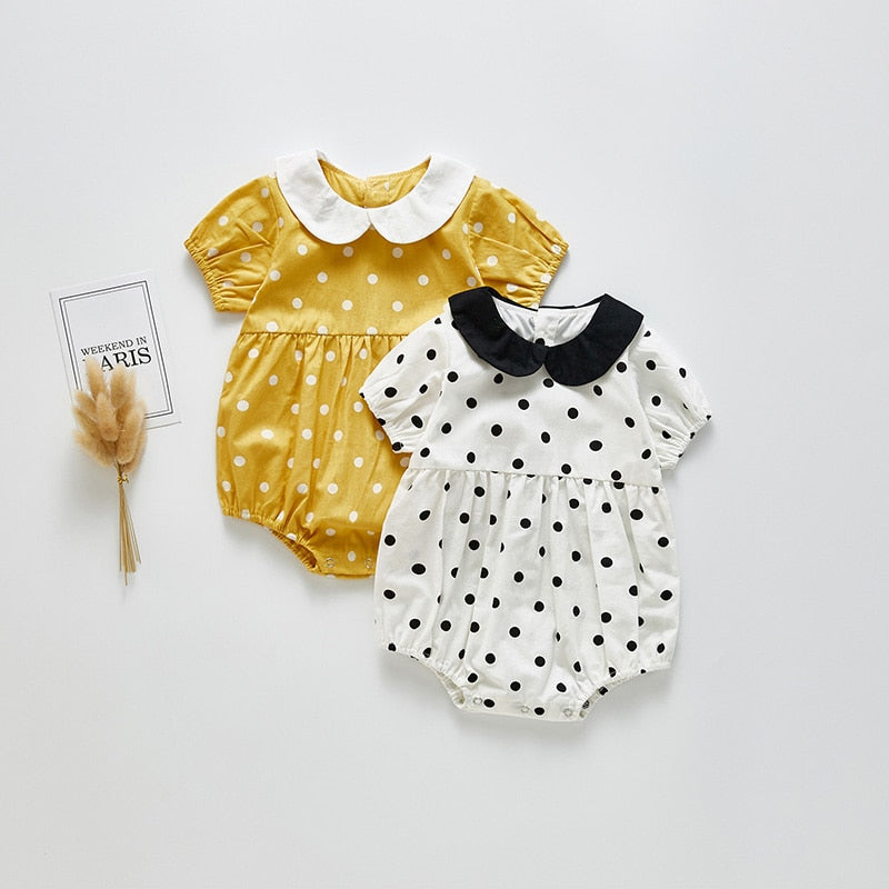 Peter Pan Collar Jumpsuit for Baby & Toddler Girls