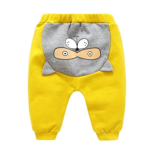 Trousers - Boo Yellow