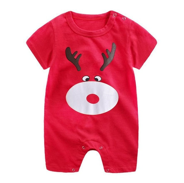 1-piece cotton romper - Jingles