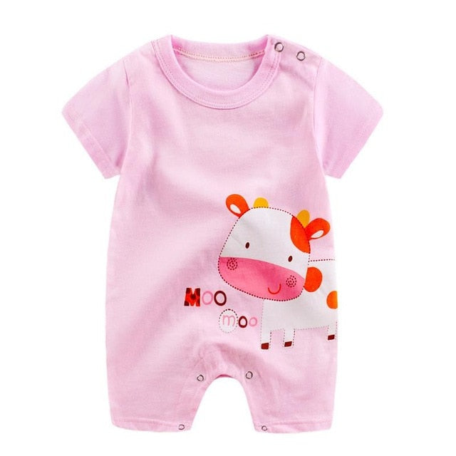 1-piece cotton romper - Moo