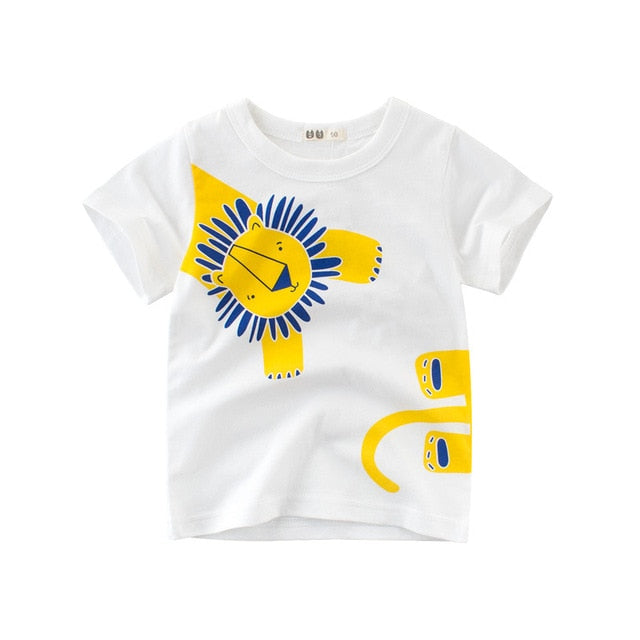 Printed Kids T-shirt - Chase