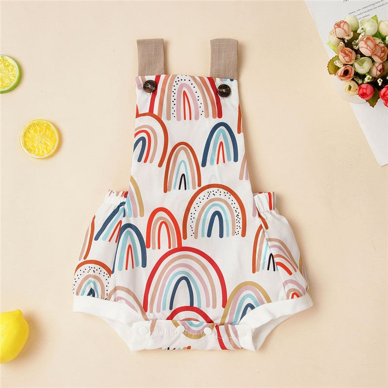 Rainbow Romper for Babies & Toddlers